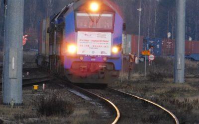 Na Euroterminal Sławków wjechał pierwszy pociąg z Chin.