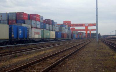 Na Euroterminal Sławków wjechał drugi pociąg z Chin.
