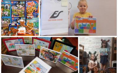 """Roozstrzygnięcie konkursu plastycznego dla dzieci pracowników """"Euroterminal za kolejne 10 lat"""""""